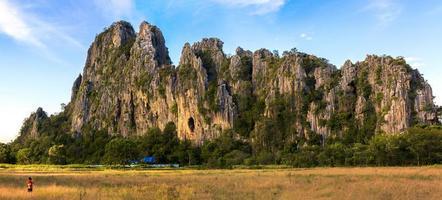 patawee mountain,Uthai thani Thialand photo