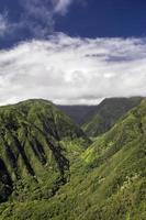 trilha do cume waihee, montanhas oeste de maui, havaí