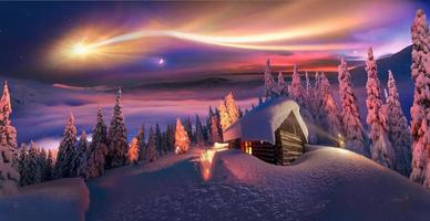 Christmas in the Carpathians photo