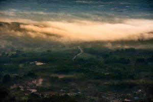 natureza da paisagem de Songkhla Tailândia