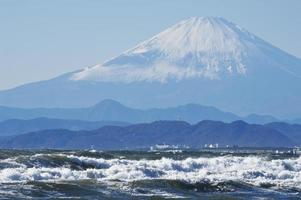 monte fuji-magnífico foto