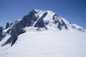 pico del mont blanc - 4809 m foto
