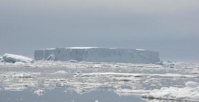 Tabular iceberg.