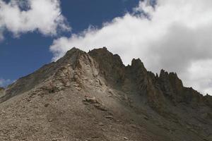 vistas panorámicas de las montañas del tíbet