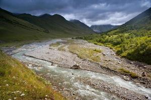 Caucasus mountains taken in Swanetia, photo