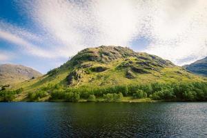 Mountain near Loch Eilt, Scotland photo