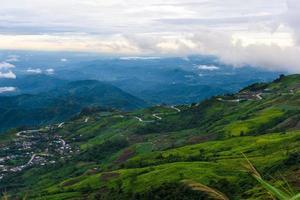 Mountain road at ( phu tubberk)