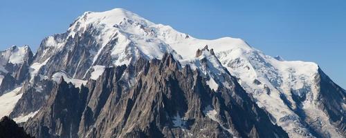 Mont Blanc and Aiguilles de Chamonix photo