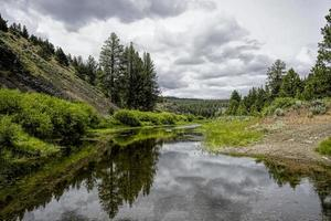 Silvies River in the mountains photo