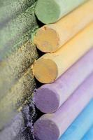 Colorful chalk pastels
