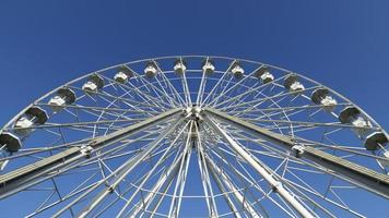 Great white Ferris wheel