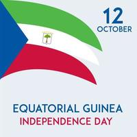 Equatorial Guinea independence day banner