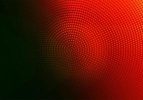 Abstract red and black dotted circular design vector