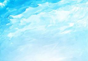 Abstract soft blue sky watercolor texture vector
