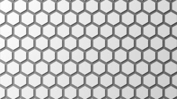 Abstract hexagon background texture vector