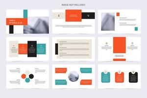 Corporate Modern Shape Slideshow Template