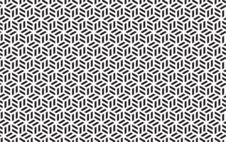 Seamless black and white cube geometric pattern