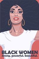 African American women culture poster