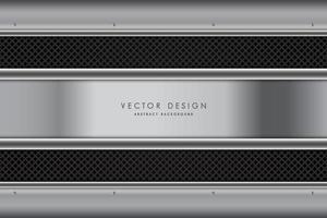 Dark gray metallic background with carbon fiber strips