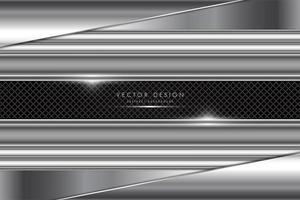 fondo de tecnología de metal gris