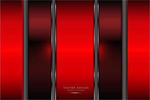 Red metallic texture with glow light vector