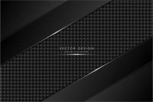 Fondo metálico negro y gris con fibra de carbono.