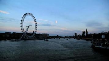 london eye & big ben timelapse