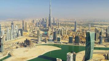 Luftaufnahme Burj Khalifa Dubai Creek Dubai video