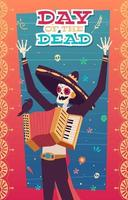 The Day Of The Dead Illustration