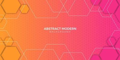 Colorful abstract geometric background gradient design