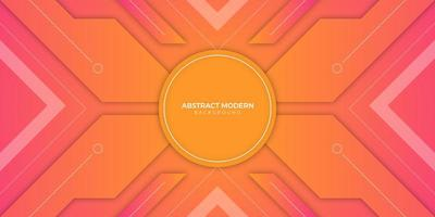 Abstract Background with Sunset Colors vector