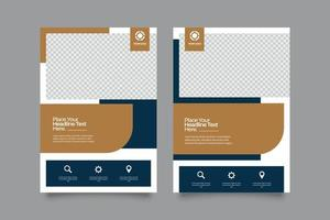 Modern Corporate Business Flyer vector