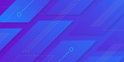 Futuristic geometric background vector