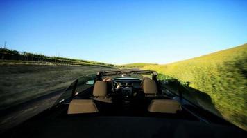 conducción a intervalos en el valle de napa