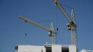 construção de um edifício de vários andares video