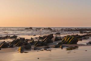 Sundown Over The Pacific Ocean