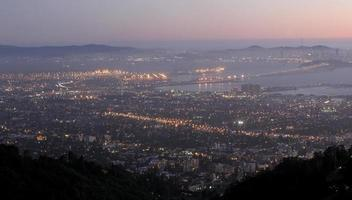 Bay Area, as seen from Grizzly Peak