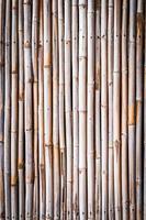 fondo de pared de bambú foto