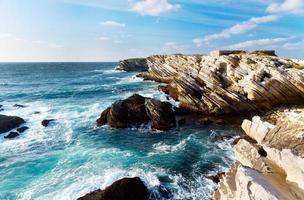 costa del océano atlántico foto