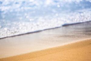 Clean ocean water photo