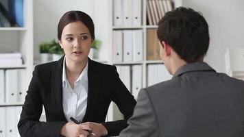 reunião de negócios video
