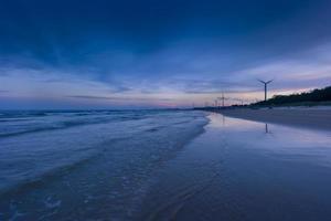 zhangpu liuao beach at dusk photo