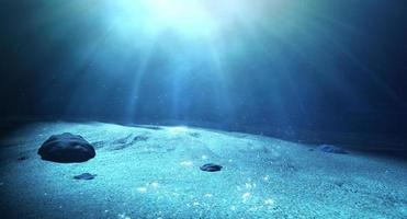 Underwater Sea Floor photo