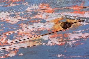 fond en bois coloré rouillé