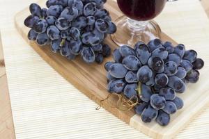 uvas azules foto
