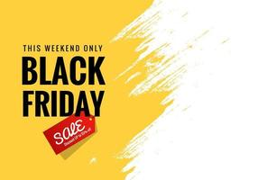 Black Friday announcement sale banner background