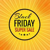Black Friday concept sale poster  background
