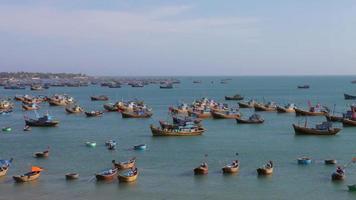 Vietnamese fishing village video