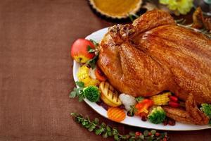 cena de Acción de Gracias foto
