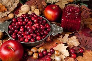 frutas de ação de graças